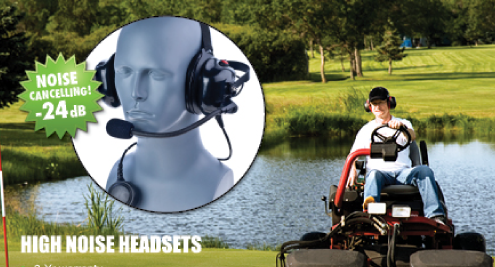 high noise canceling handsfree headsets for loud environments