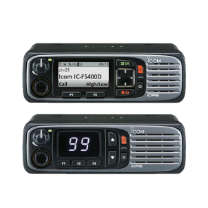 icom mobile two-way responder