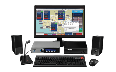 telex ip dispatch controller