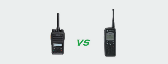 5 reasons to choose Hytera digital radios over Motorola DTR
