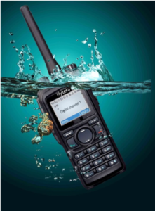 hytera two-way radio is built to be waterproof